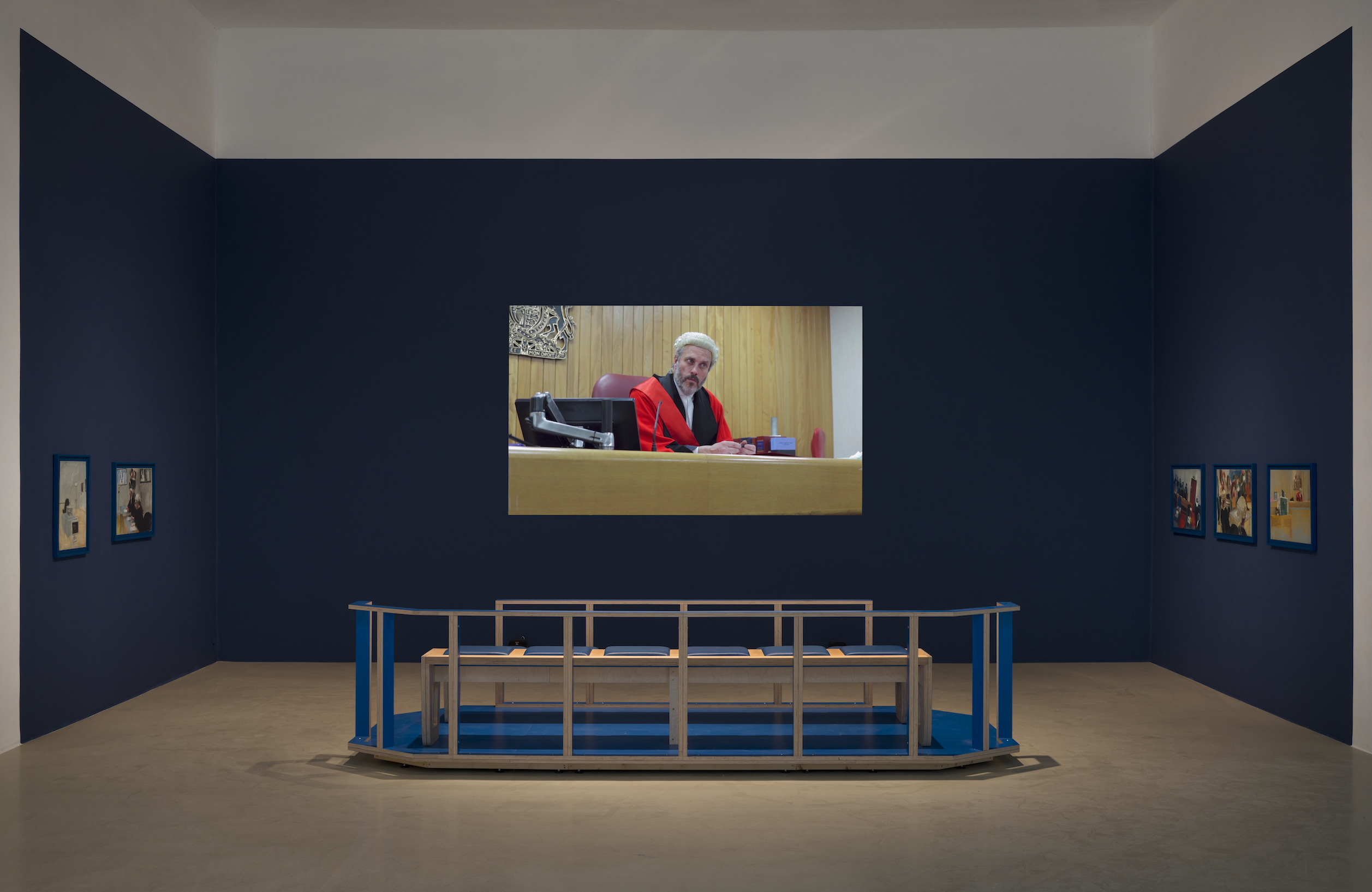 Helen Knowles, »Trial of Superdebthunterbot«, 2016