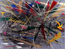 Julie Mehretu »Grey Space«, 2006